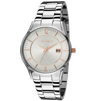 Accurist Gents Stainless Steel Watch - MB649SR-NEW