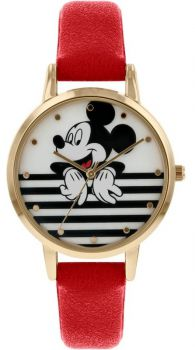 Disney Mickey Mouse Watch - MK5090 NEW