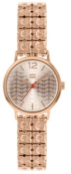 Orla Kiely Rose Gold Ladies Watch - OK4096 NEW