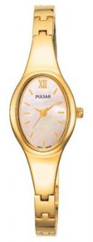 Pulsar Ladies Gold Plated Bracelet Watch    PC3216X1-PNP