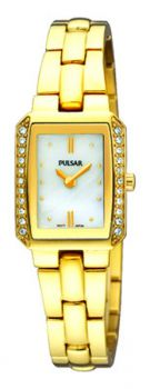 Pulsar Ladies Gold Plated Watch  PEGF76X1-PNP