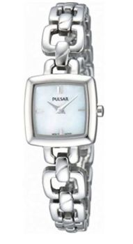 Pulsar Ladies Stainless Steel Bracelet Watch  PEGG59X1 NEW
