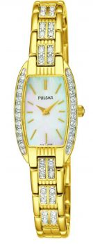 Pulsar Ladies Crystal Set Watch - PEGG76X1 NEW