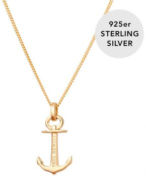 Paul Hewitt Ladies 18k Anchor Spirit Necklace - PH-AN-G NEW