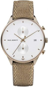 Paul Hewitt Gents Chronograph Watch - PH-C-BR-W-47M NEW
