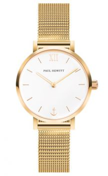 Paul Hewitt Ladies Sailor Line Watch - PH-SA-G-XS-W-45S NEW