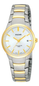 Pulsar Ladies Titanium Watch - PH7128X1 PNP