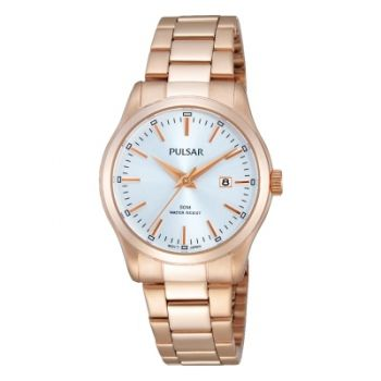 Pulsar Ladies Rose Gold Plated Watch    PH7370X1-PNP