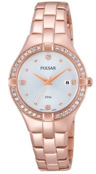 Pulsar Ladies Stainless Steel Watch - PH7380X1 PNP