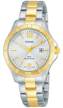 Pulsar Ladies Stainless Steel Dress Watch - PH7382X1 PNP