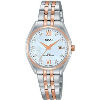 Pulsar Ladies Two Tone Watch - PH7458X1-PNP