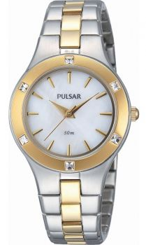 Pulsar Ladies Stainless Steel Dress Watch - PH8044X1 PNP