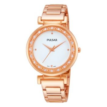 PNP PH8106X1   Pulsar Ladies Rose Gold Plated Watch