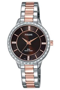 Pulsar Ladies Swarovski Set Bracelet Watch  PH8217X1 NEW