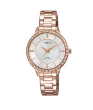 Pulsar Ladies Rose Gold Plated Watch  PH8220X1 NEW