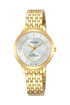 Pulsar Ladies Gold Plated Watch - PH8370X1-NEW