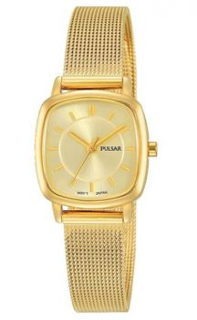 Pulsar Ladies Gold Plated Watch - PH8375X1 NEW