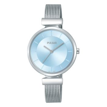 Pulsar Ladies Mesh Bracelet Watch    PH8411X1-PNP