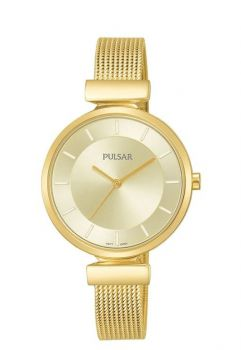 Pulsar Ladies Mesh Bracelet Watch - PH8412X1 X PNP