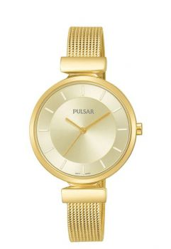 Pulsar Ladies Mesh Bracelet Watch   PH8412X1 NEW