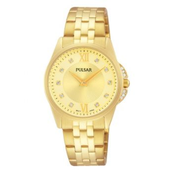 Pulsar Ladies Two Tone Bracelet Watch    PM2166X1-PNP