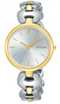 Pulsar Ladies Two Tone Watch - PM2264X1-NEW