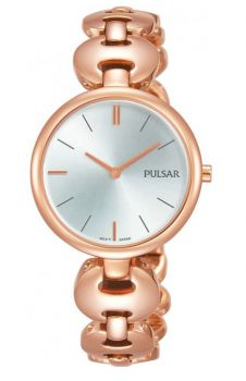 Pulsar Ladies Gold Plated Bracelet Watch  PM2268X1 NEW
