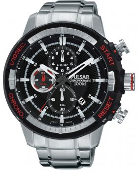Pulsar Gents Chronograph Stainless Steel Watch - PM3047X1 NEW