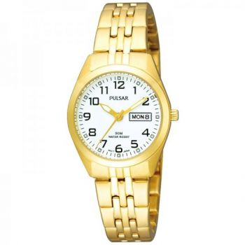 Pulsar Ladies Gold Plated Watch - PN8002X1 PNP
