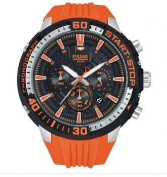 Pulsar Gents Active X Sports Chronograph Watch  PT3511X1 NEW