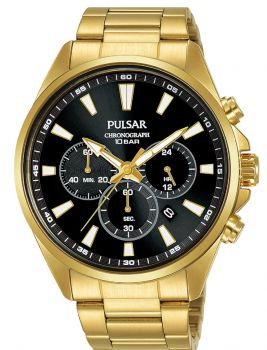 Pulsar Gents Chronograph Watch - PT3A40X1 NEW