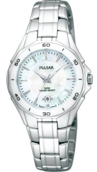 Pulsar Ladies Stainless Steel Bracelet Watch - PXT895X1 PNP