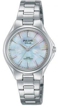 Pulsar Ladies Mother Of Pearl Solar Watch - PY5031X1 NEW