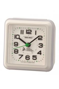 Seiko Novak Djokovic Alarm Clock - QHE908W-NEW