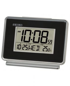 Seiko Digital Alarm Clock - QHL068K NEW