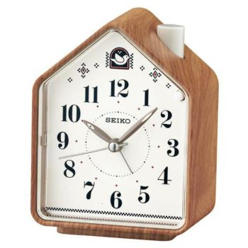 Seiko Bird Songs/Beep Alarm Clock - QHP005A NEW