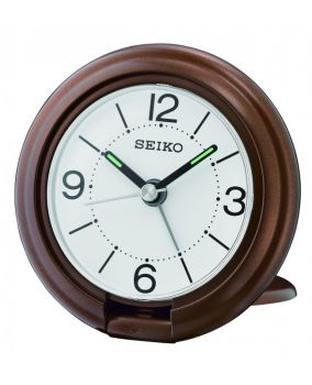 Seiko Travel Alarm Clock  QHT012B-NEW