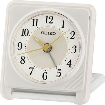 Seiko Travel Alarm Clock  QHT016W-NEW