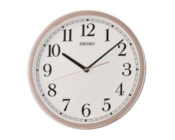 Seiko Wall Clock with Sweep Second Hand. - QXA730P-NEW