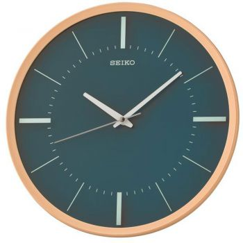 Seiko Wall Clock with Sweep Second Hand. - QXA731Y-NEW