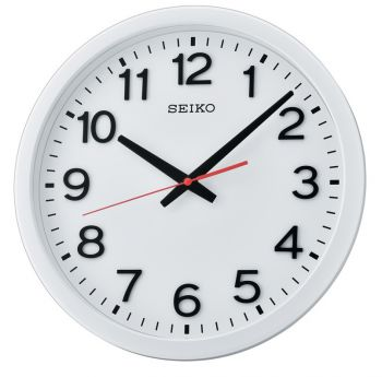 Seiko Wall Clock with Sweep Second Hand - QXA732W NEW