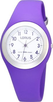 Lorus Ladies /Childrens Resin Strap Watch  LNP R2305GX9
