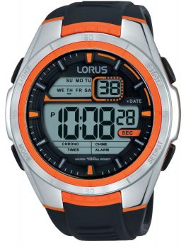 Lorus Gents Resin Strap Watch      R2311LX9-LNP