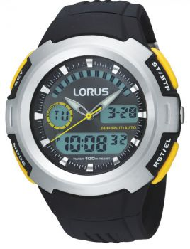 NB Lorus Gents Resin Strap Watch - R2323DX9 LNP