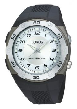 NB  Lorus Gents Resin Strap Watch - R2329DX9-LNP