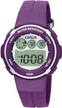 NB  Lorus Ladies Resin Strap Watch R2379DX9-LNP