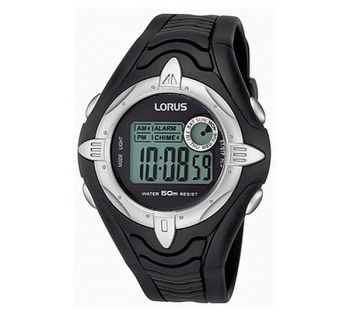 Lorus Gents Chronograph Resin Strap Watch  NB  LNP R2383BX9