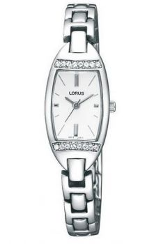 Lorus Ladies Swarovski Stainless Steel Bracelet Watch RC371AX9-LNP