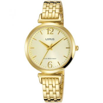 Lorus Ladies Gold Plated Watch   RG222NX9-LNP