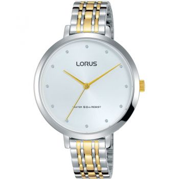 Lorus Ladies Two Tone Watch   RG227MX9-LNP